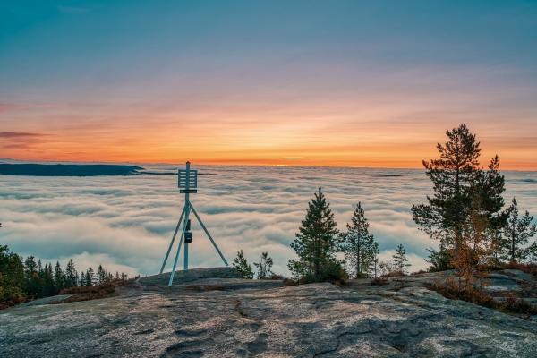 Storsteinsfjell - utsikten