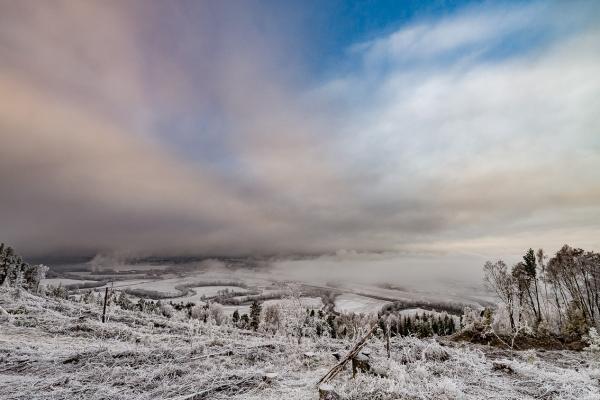 Vinterutsikt fra Reistadåsen