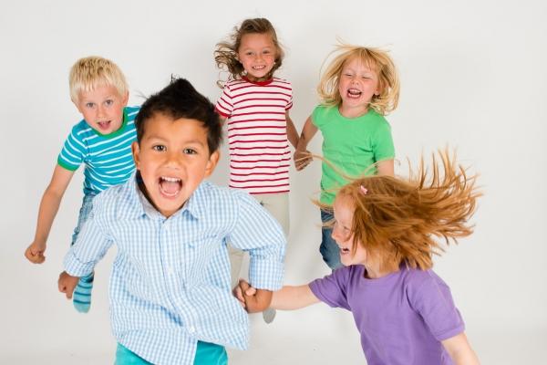 Små barn, store gleder, full fart!