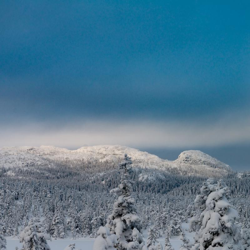 Nydelig vinter på Skrimfjell