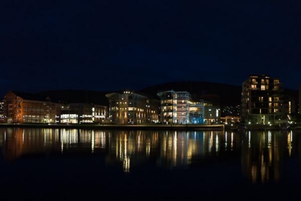 Elvebredden i Drammen